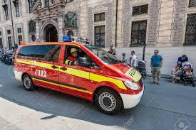 Munich, Germany - May 29, 2016: Munich Saw The Biggest Fire Truck ...