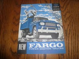 100 Fargo Truck Sales 1958 Model D500 Brochure V8 And 38 Similar Items