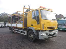 IVECO EURO CARGO 180E24 4X2 18TON SLEEPER CAB CRASH CUSHION Flatbed ...