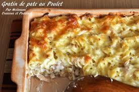 pates au blanc de poulet gratin de pâtes poulet fromage et sauce béchamel couscous et