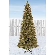 National Tree Company Glittery Bristle Pine Christmas