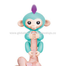 China New Hottest 6 Colors Fingerlings Interactive Baby Monkeys For Sale W01A302