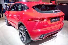 New Jaguar E Pace SUV price release date video and full details
