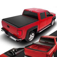 100 Truck Tonneau PICKUP TRUCK VINYL ROLLUP SOFT TONNEAU COVER FOR 0714 SILVERADO