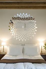 3D Reflective Mirroe Decal In Bedroom