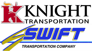 U.S. Trucking Giants Knight And Swift To Merge - YouTube