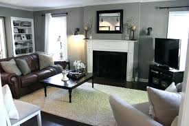 Dark Brown Sofa Living Room Ideas by Grey Walls Brown Furniture U2013 Iner Co