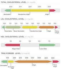 hdl cholesterol range normal normal cholesterol levels chart total ldl hdl triglycerides