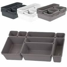 8er set schubladen organizer box fach einteiler küche