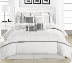 Amazon.com: Chic Home Vermont 8-Piece Comforter Set, White/Silver ... Shabby Chic Home Design Lbd Social 27 Best Rustic Chic Living Room Ideas And Designs For 2018 Diy Home Decor On Interior Design With 4k Dectable 30 Coastal Inspiration Of Oka Download Shabby Gen4ngresscom Industrial Office Pictures Stunning Photos Bedding Iconic Fniture Boncvillecom Modern European Peenmediacom