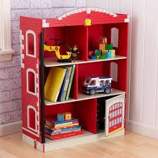 Kidkraft Avalon Chair Blueberry 16654 by Kidkraft Firehouse Bookcase 76026 Kid Bookcases And Kid Kraft