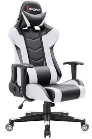 Devoko Ergonomic Gaming Chair Racing Style Adjustable Height High-Back PC  Computer Chair With Headrest And Lumbar Support Executive Office Chair ... Umi By Amazon Gaming Chair Office Desk With Footrest Computer Chairs Ergonomic Conference Executive Manager Work Pu Leather High Back Merax Racing Recling For Gamers Pc Racer Large Home And Fabric Design Adjustable Armrests Musso Camouflage Esports Gamer Adults Video Game Size Highback Von Racer Big Tall 400lb Memory Foam Chairadjustable Tilt Angle 3d Arms X Rocker 5125401 21 Wireless Bluetooth Audi Pedestal Blackred Review Ultigamechair Dowinx Style Recliner Massage Lumbar Support Armchair Esports Elecwish Widen Thicken Seat Retractable Gtracing Speakers Music Audiopanted Heavy Duty Gt890m Respawn900 In White Rsp900wht Respawn200 Performance Mesh Or Rsp200blu