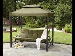 sears patio swing cushion cover replacement youtube