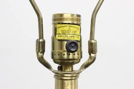 Marbro Lamp Company Los Angeles by Single 1960s Murano Lamp By Seguso For Marbro Lamp Co For Sale At