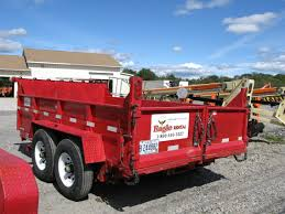 Two Axle Dump Trailer – 12,000 Lb | Eagle Rental - Commercial ...