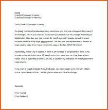 Sample Rent Increase Letter Part Rent Increase Sample Letter Sample