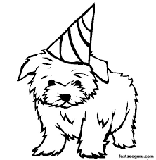 Dog Coloring Pages For Kids