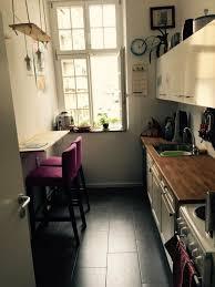 gemütliche renovierte altbauküche mit stylischer diy le