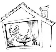 Free Coloring Pages Dr Seuss Green Eggs Ham Cooloring Throughout