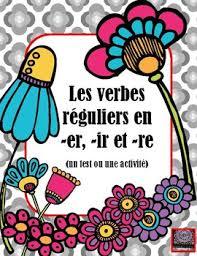 si er conjugaison verbes en er teaching resources teachers pay teachers