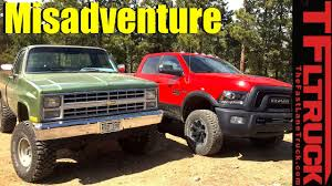 Big Green Chevy Vs Ram Power Wagon Vs Gold Mine Hill Off-Road ...