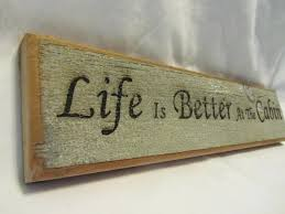 Reclaimed Barn Wood Sign - Life Is Better At The Cabin Diy Barn Door Sign Custom Wood Wish Rustic Barn Wood Dandelion Make A Fine Decor Shop Wall Signs To Match Your Decor Rustic Western Country Red Wooden Haing Welcome I Saw That Karma Little Blue Online Store Horse Tack Room Stall Gp And Son Woodcrafting Train Insane Or Stay The Same Gym Workout With Stock Image Image Of Green 35972243 Ctommetalbunesssignavasplacewithbarn2 Alabama Metal Art Beware Ride Horses Distressed Typography Sign Most Memorable Days Usually End The Dirtiest Clothes