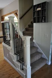Banister: Stair Hand Railing Ideas | Banister Ideas | Ideas For ... Best 25 Steel Railing Ideas On Pinterest Stairs Outdoor 82 Best Spindle And Handrail Designs Images Stairs Cheap Way To Child Proof A Stairway With Banisters Which Are Too Stair Remodeling Ideas Home Design By Larizza Modern Neutral Wooden Staircase With Minimalist Railing Wood Deck New Decoration Popular Loft Wonderfull Crafts Searching Obtain Advice In Relation Banisters Banister Idea Style Open Basement Basement Railings Jam Amp