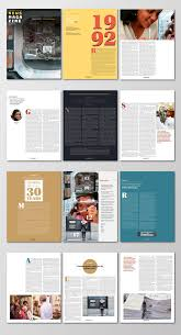 100 Magazine Design Ideas 003 Template Free Layout Stunning Templates For
