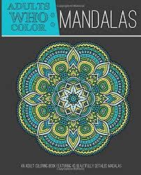 Mandala Zen Adult Coloring Book