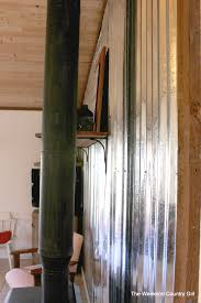 Tortilla Curtain Pdf Online by Diy Corrugated Tin Wall Tutorial Remodelaholic Bloglovin U0027