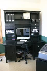 Ikea Secretary Desk With Hutch by Longed For Home Office Ikea Hackers Ikea Hackers