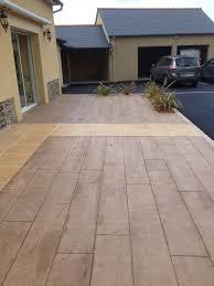 prix beton decoratif m2 terrasse beton imprime prix m2 evtod