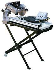 Qep Wet Tile Saw Model 60010 by Tile Saw Stand Ebay