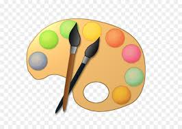 Palette Painting Artist Clip Art