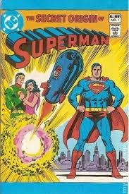 Cover For The Secret Origin Of Superman Leaf Comic Book Candy DC 1980 Series