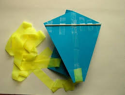 easy paper kite for kids 11 steps with pictures