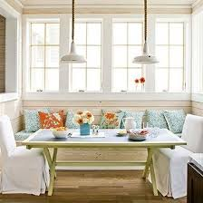 Kitchen Booth Seating Ideas by 40 Cute And Cozy Breakfast Nook D Cor Ideas Digsdigs Red Seat