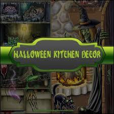 Halloween Kitchen Decor Best 25 Ideas On