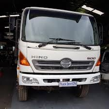 HINO 500 (16/26) FLAT DECK TRUCK ,STAKE POCKETS (TIMBER CARRIER ...
