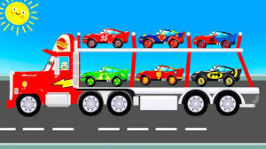 McQueen Truck Transportation - Learn Colors For Children Cars ... Super School Bus Monster Truck Compilation Kids Video Youtube Bigfoot Youtube 28 Images Presents Meteor Cartoon Gold Surprise Egg Bigfoot Cartoon Monster Truck Cartooncreativeco Tv Presents Meteor And The Mighty Trucks Show Beds For Kids Ivoiregion And The Mighty Trucks Uvanus A Snippet Of Official Website Blaze Attacked By Jurassic World Dinosaurs Nickelodeons