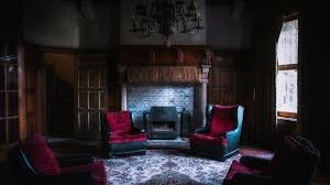 Old House Room Chair Fireplace Interior Design Photos