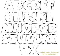 Printable Letter Templates Stencil Letters Alphabets Printable