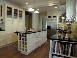 my favorite part the built in wine cubby in the kitchen island