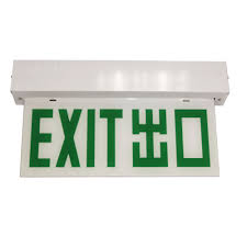 100 Exit C No1 LED120B Sign Plate Direction Sign Plate Double Side