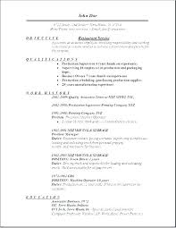Resume Objective Statement Examples For Restaurant Management Business Server This Is Example Sample Objec