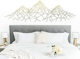 mlpnko geometrische berg vinyl aufkleber haus wohnzimmer