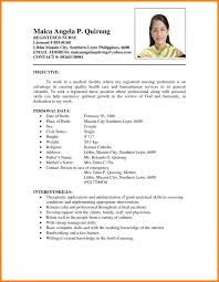 Sample Resume For Teaching Position Philippines Best Teacher Applicant In The Phil A