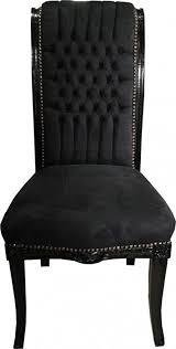 casa padrino barock hochlehner esszimmer stuhl schwarz