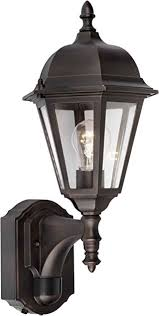 forte lighting 18003 01 32 exterior wall light with clear beveled