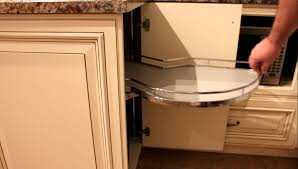 Blind Corner Base Cabinet by Windmill Blind Cabinet With Lemans Swing Out Unit Youtube